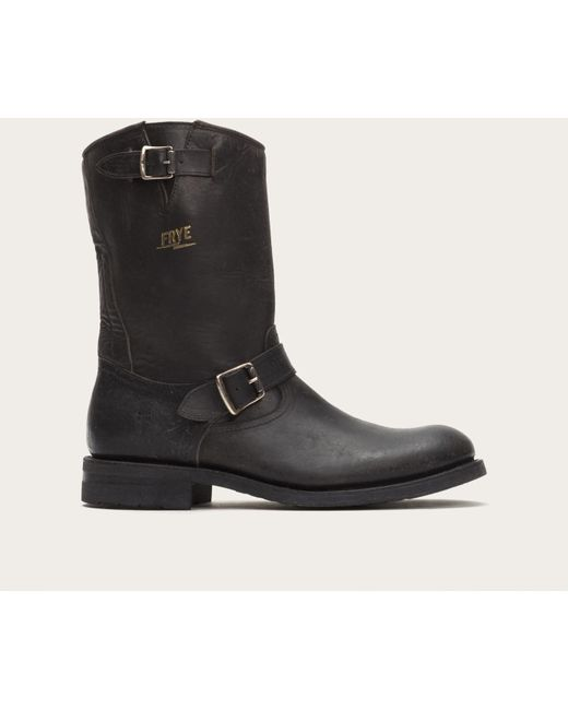 Frye | Black Stone Engineer for Men | Lyst