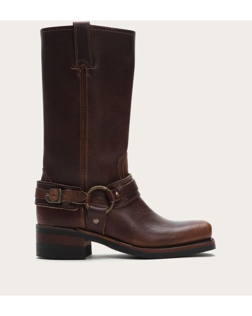 Frye | Brown Belted Harness | Lyst