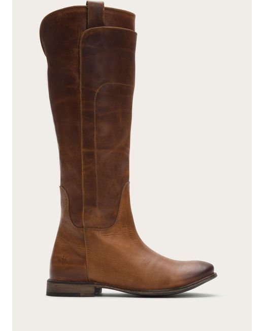Frye - Brown Paige Tall Riding Boots   Frye Since 1863 - Lyst