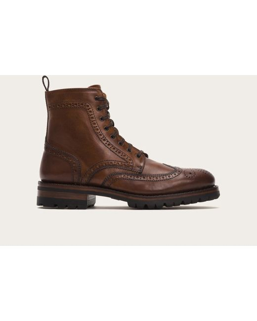 Frye | Brown George Lug Brogue Lace Up for Men | Lyst