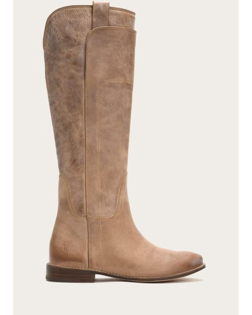 Frye | Brown Paige Tall Riding | Lyst