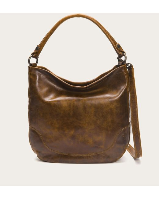 Frye | Brown Melissa Hobo | Lyst