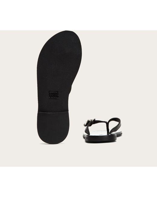 bed868e8e ... Frye - Black Ally Western Flip Flop