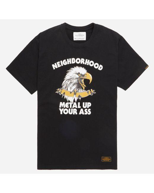 Neighborhood | Black Metal T-shirt for Men | Lyst