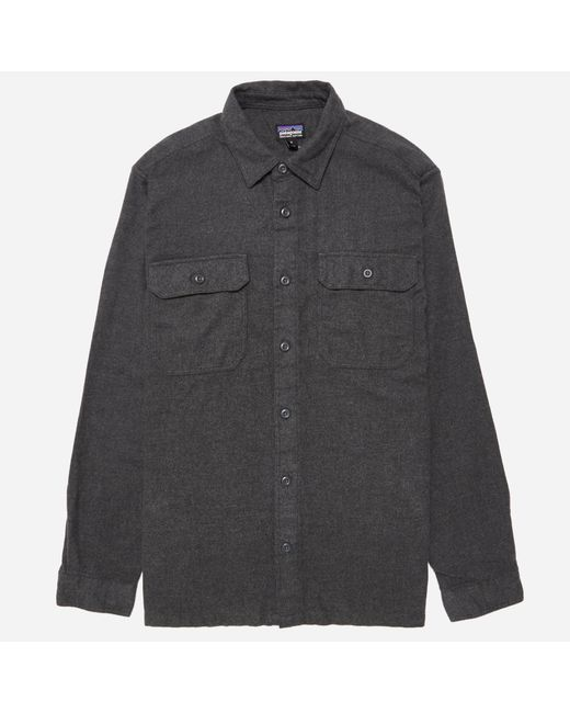 Patagonia | Gray Fjord Flannel Shirt for Men | Lyst
