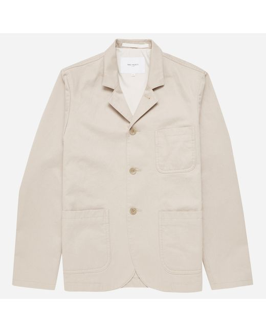 Norse Projects | Natural Lars Heavy Twill Jacket for Men | Lyst