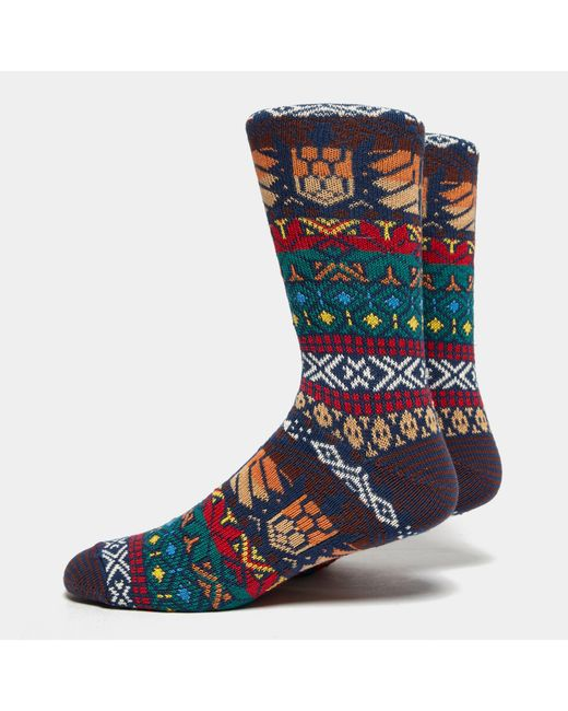 Anonymous Ism - Blue Guatemala Crew Socks for Men - Lyst