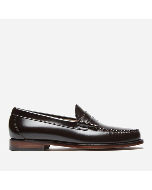 fd698c48f72 ... G.H.BASS - Brown Weejun Larson Penny Loafer for Men - Lyst ...