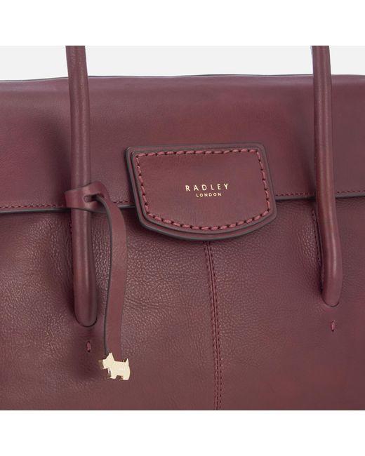 c1db7d760e ... Radley - Purple Burnham Beeches Large Shoulder Bag - Lyst ...