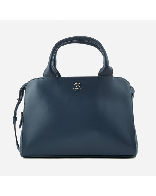 Radley - Blue Millbank Medium Ziptop Multiway Bag - Lyst