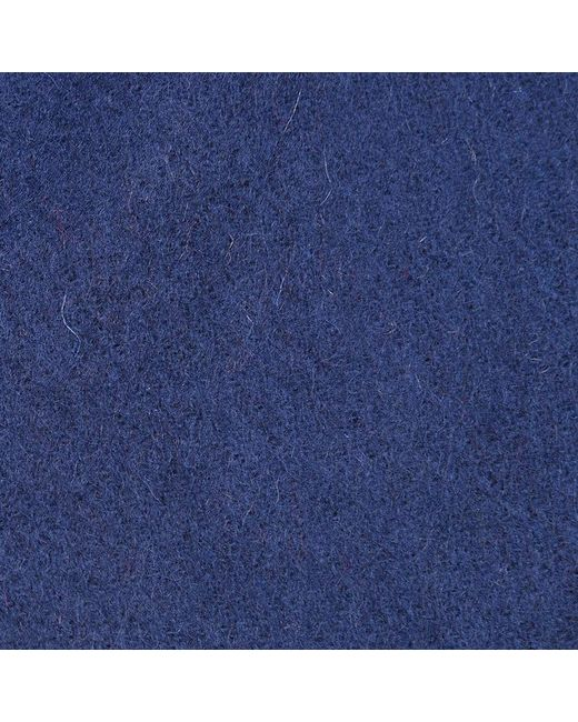 Barbour - Blue Plain Lambswool Scarf for Men - Lyst