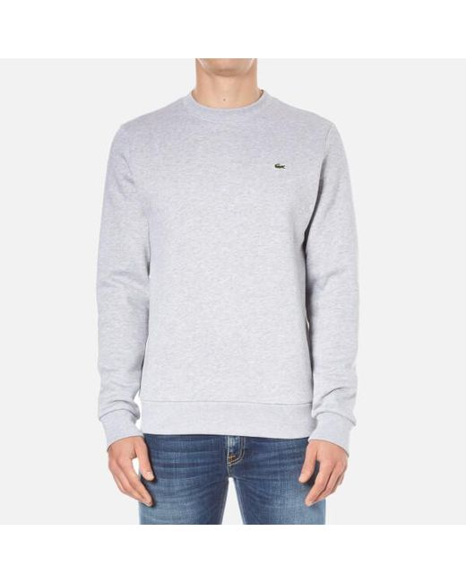 Lacoste | Gray Men's Sweatshirt for Men | Lyst