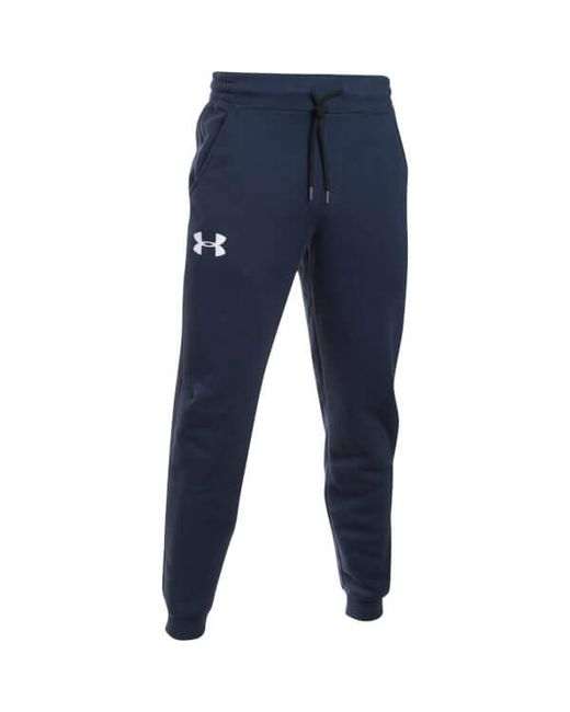 Under Armour | Blue Rival Cotton Joggers -navy for Men | Lyst