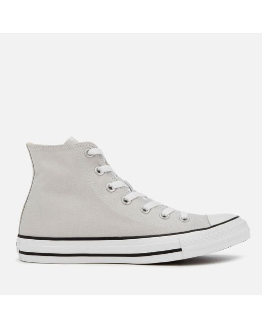 Converse - Gray Chuck Taylor All Star Seasonal Hi-top Trainers for Men -  Lyst ... 999bc61a0