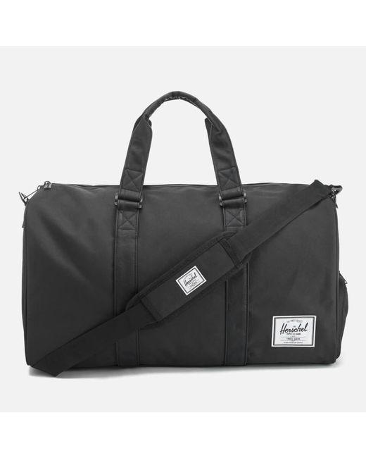 Herschel Supply Co. Black Novel Duffle Weekend Bag for men