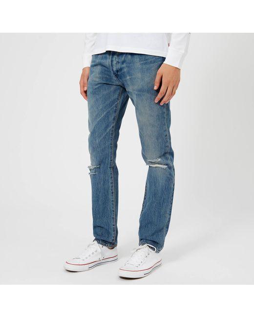 431fdb8a6ea Levi's - Blue 501 Skinny Jeans for Men - Lyst ...