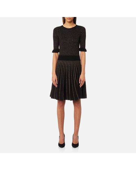 BOSS Orange | Black Illora Dress | Lyst