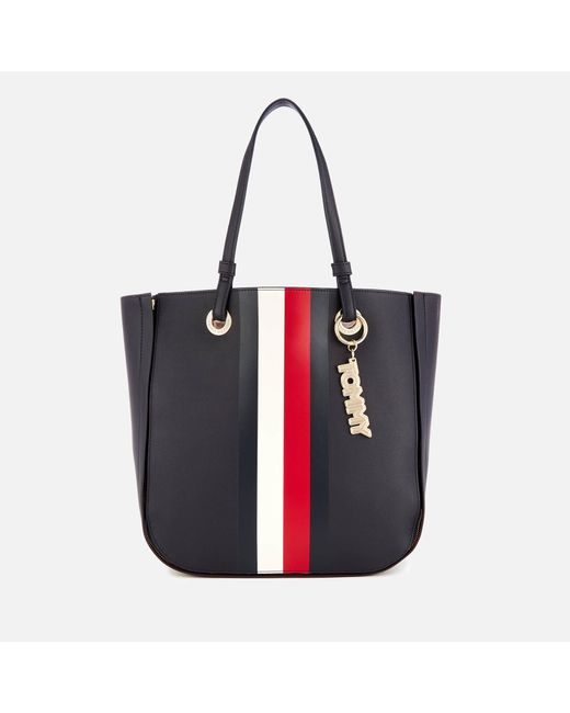 Tommy Hilfiger - Multicolor Tommy Twist Tote Bag - Lyst