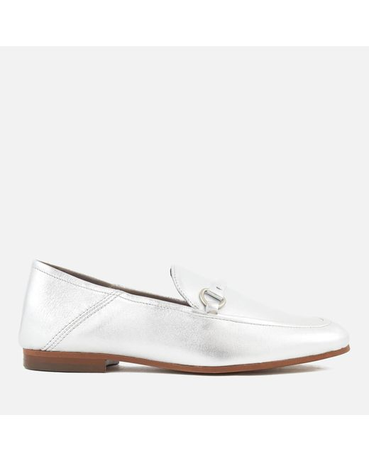 H by Hudson | Metallic Arianna Leather Loafers for Men | Lyst