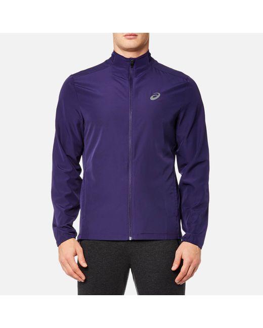 Asics | Purple Running Jacket for Men | Lyst