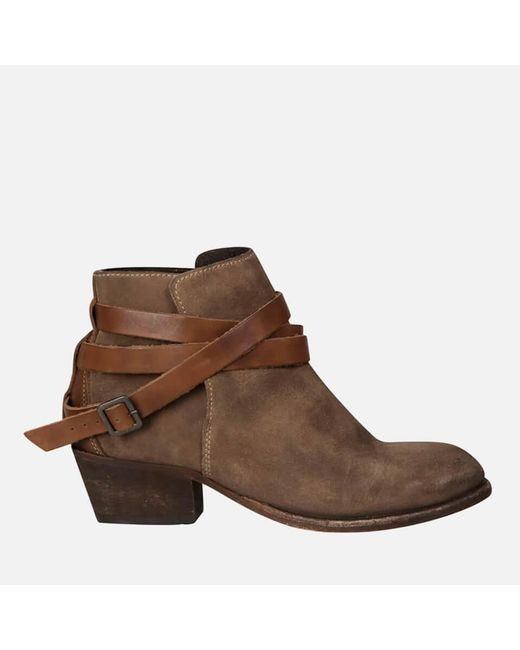 H by Hudson - Natural H Shoes By Hudson Women's Horrigan Suede Ankle Boots - Lyst