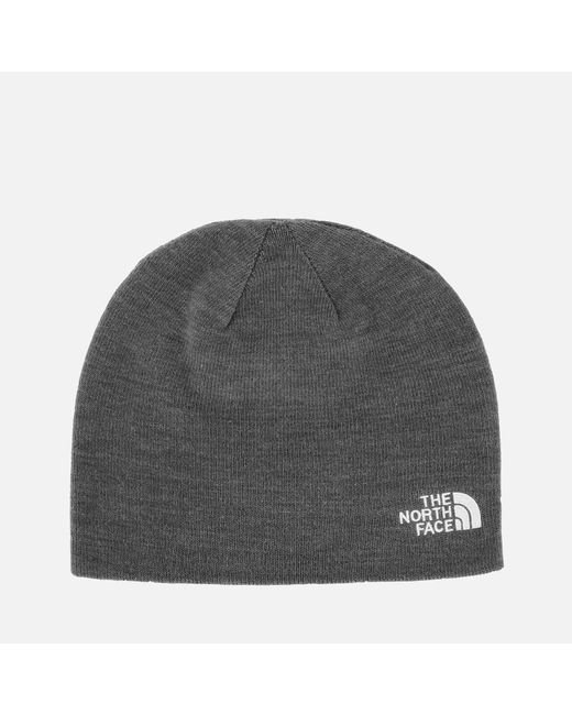 The North Face - Gray Gateway Beanie - Lyst