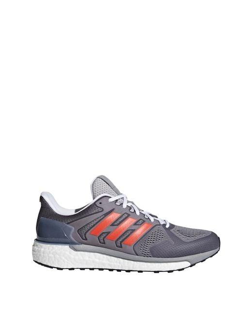 c17f1fb0a25ec Lyst Adidas Supernova St Aktiv Running Shoes In Gray