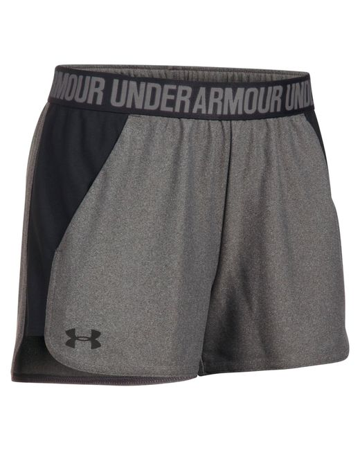 Under Armour - Gray Women's Play Up Shorts 2.0 With $5 Rue Credit - Lyst