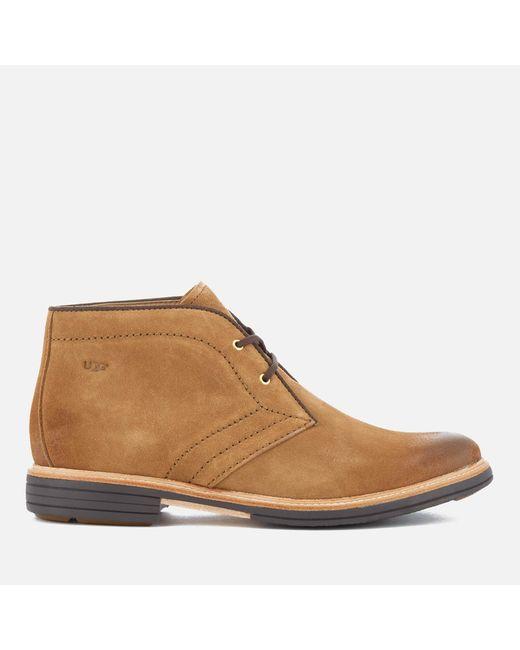 Ugg - Brown Dagmann Suede Desert Boots for Men - Lyst ...
