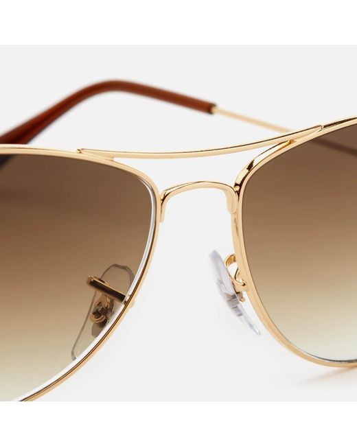 ff49fd2c73 ... Ray-Ban - Multicolor Cockpit Metal Frame Sunglasses for Men - Lyst ...