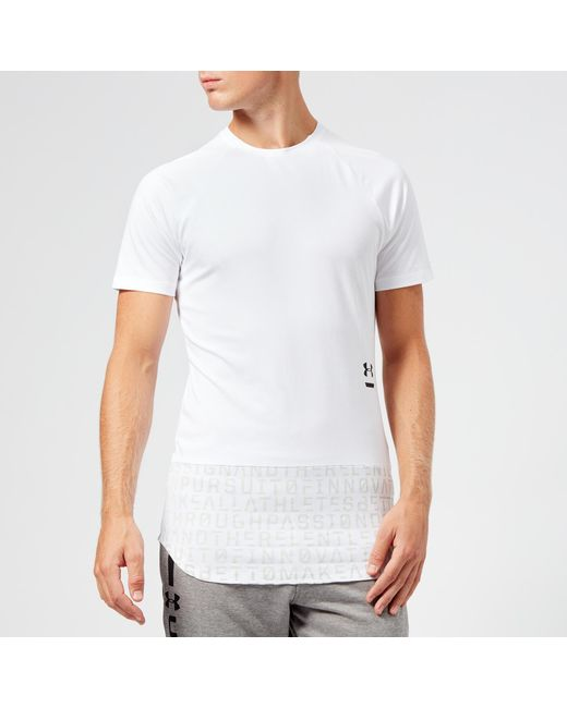 fe1e54c6f Under Armour - White Perpetual Graphic Short Sleeve T-shirt for Men - Lyst  ...