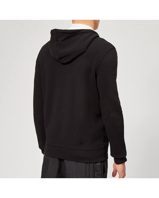 f5a3cef2512fa ... BOSS - Black Zounds Zip Hoodie for Men - Lyst ...