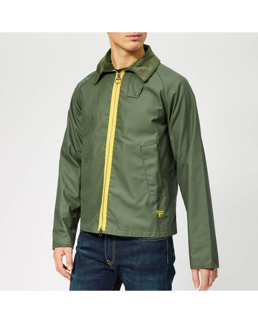 169e61a5238d Barbour - Green Munro Wax Jacket for Men - Lyst ...