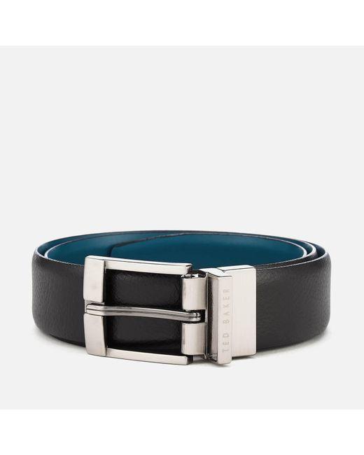Ted Baker - Black Longas Leather Belt for Men - Lyst