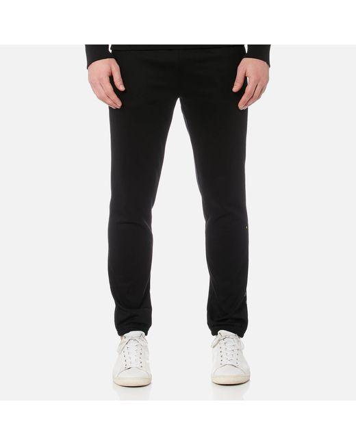 BOSS Green - Black Hl Tech Trousers for Men - Lyst