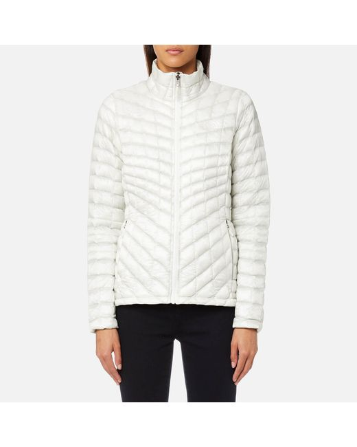 The North Face - Gray Thermoball® Zip In Jacket - Lyst