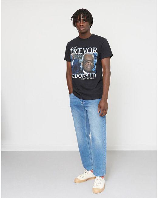 Homage Tees | Black Trevor Mcdonald T-shirt for Men | Lyst