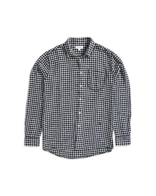 Soulland - Greene Checked Shirt Black & White for Men - Lyst