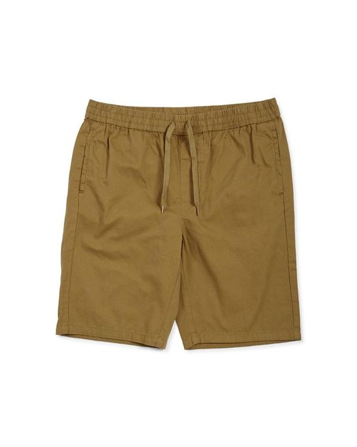 The Idle Man - Elasticated Shorts Green for Men - Lyst