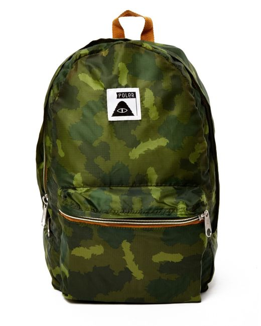 Poler | Green Rolltop Backpack for Men | Lyst