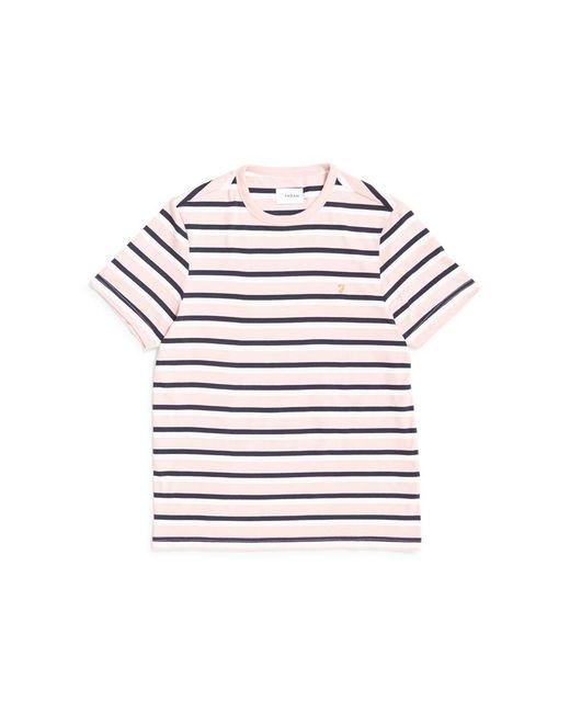 Farah - Factory T-shirt Pink for Men - Lyst