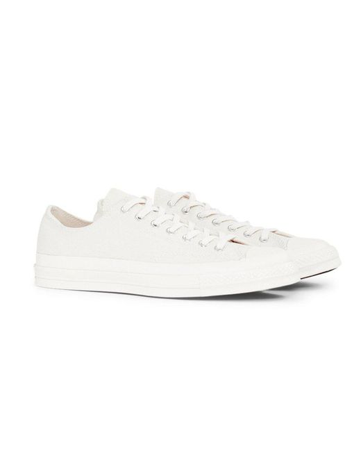 c096072dab0cfb Converse - Chuck Taylor All Star  70 Ox Natural Off White for Men - Lyst ...