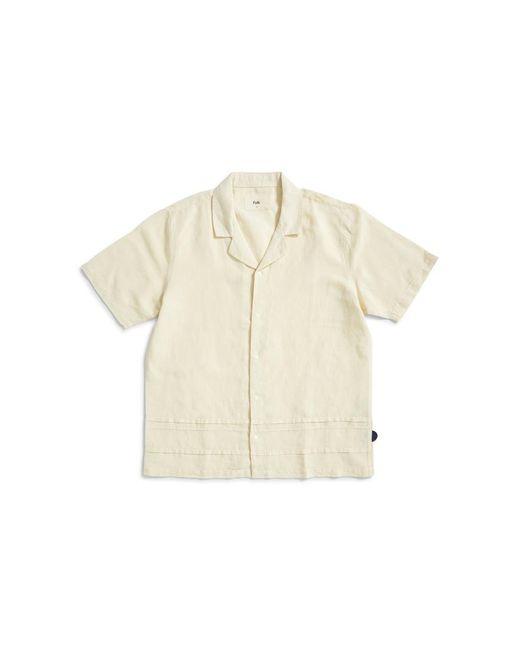 Folk - Horizon Short Sleeve Shirt Yellow for Men - Lyst