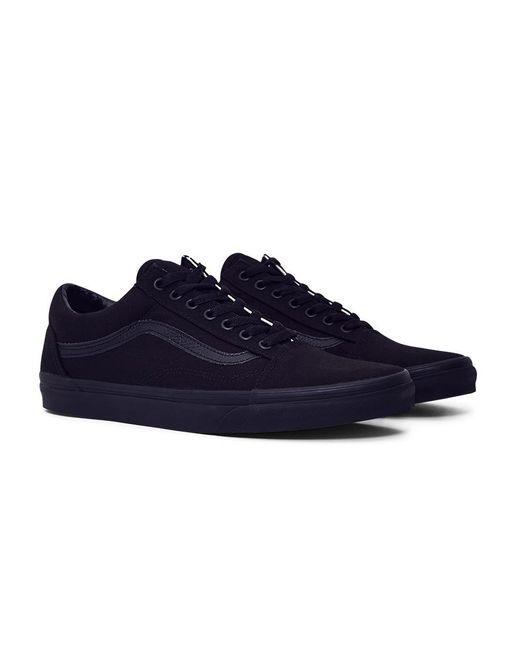 Vans - Black Old Skool Low-Top Sneakers for Men - Lyst