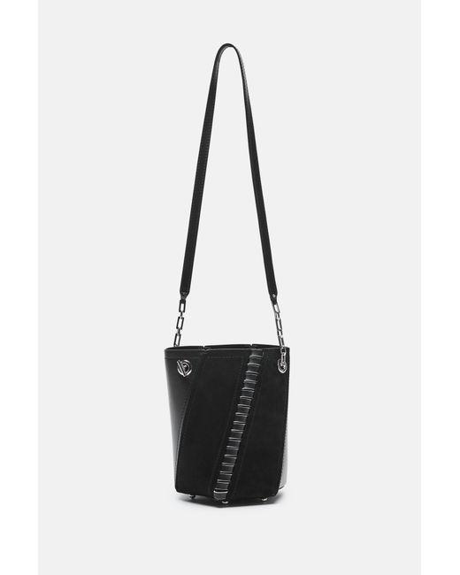 Proenza Schouler   Black Mini Hex Bucket Bag   Lyst