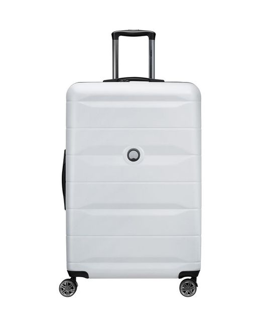 Delsey - Metallic Comete Spinner 77cm Silver - Lyst