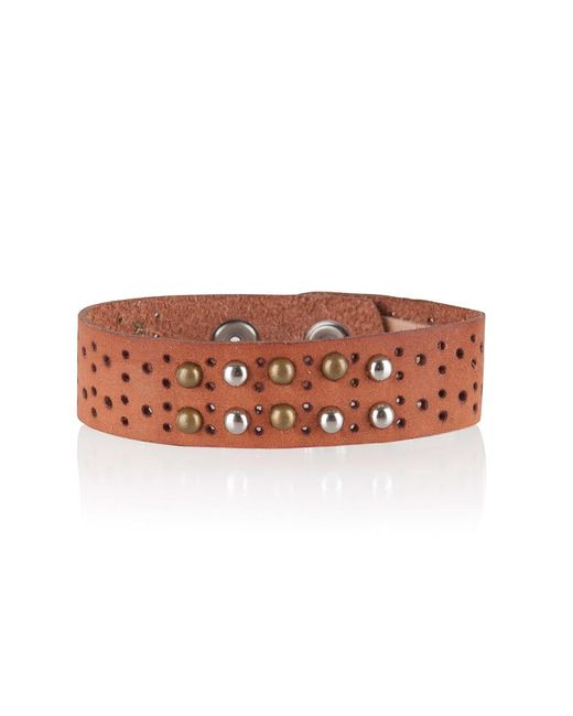 Cowboysbelt - Orange Armband 2501 - Lyst