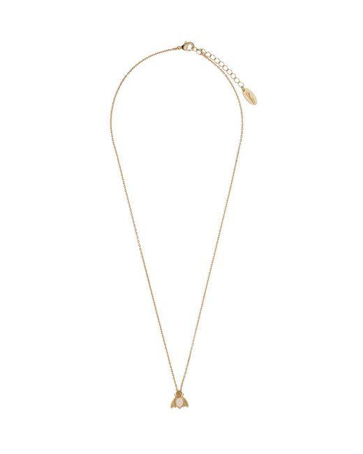 Orelia | Metallic Gem Bug Ditsy Necklace | Lyst