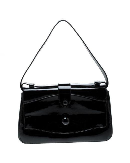Marc By Marc Jacobs - Black Patent Leather Shoulder Bag - Lyst