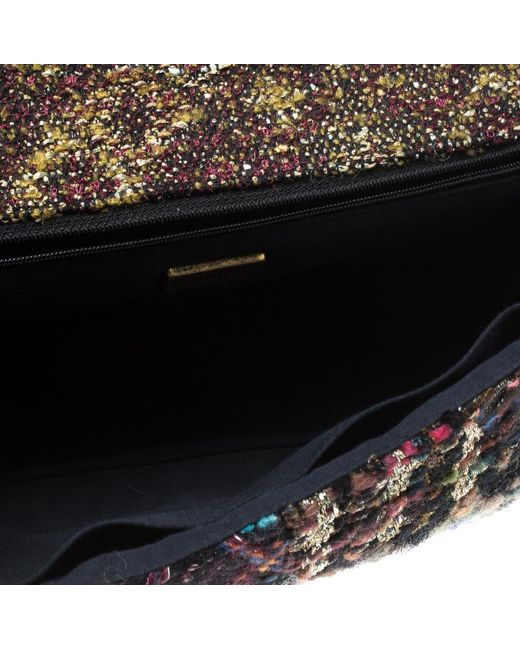 ... Chanel - Multicolor Tweed And Jeweled Limited Edition Lesage Reissue  Flap Bag - Lyst ... 0992831e6e3ef